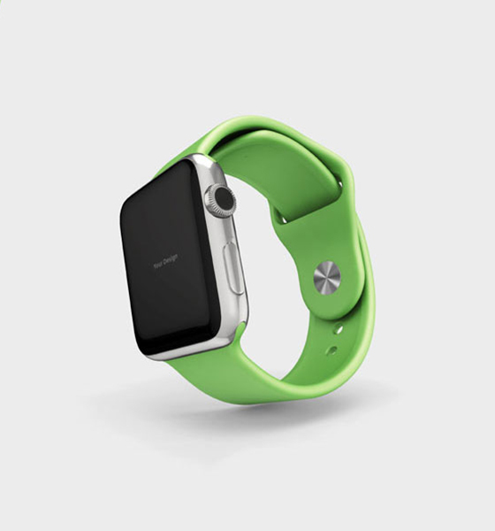 Green Smart Watch